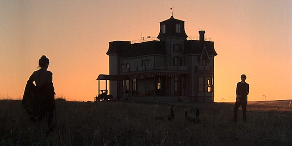 Brooke Adams and Richard Gere in Terrence Malick's  Days of Heaven