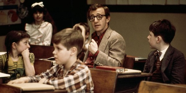 Woody Allen revisits his childhood in his own  Annie Hall