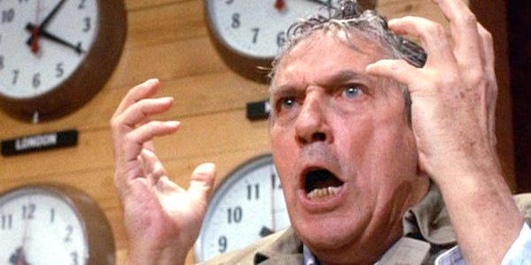 Peter Finch in Sidney Lumet's  Network