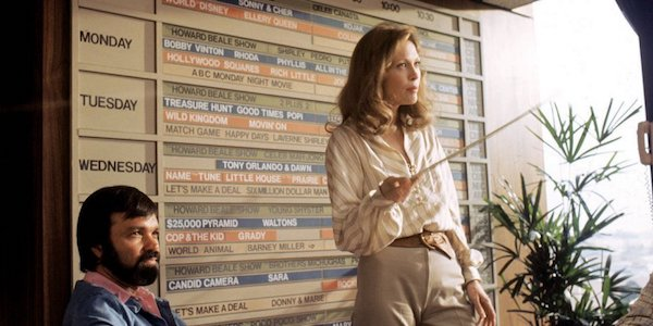 Faye Dunaway in Sidney Lumet's  Network