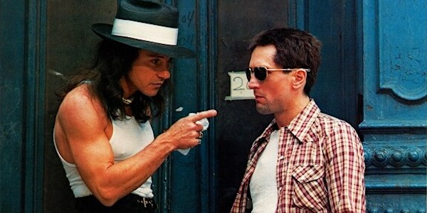Harvey Keitel and Robert De Niro in Martin Scorsese's  Taxi Driver