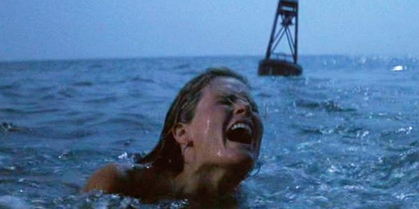 Susan Backlinie in Steven Spielberg's  Jaws