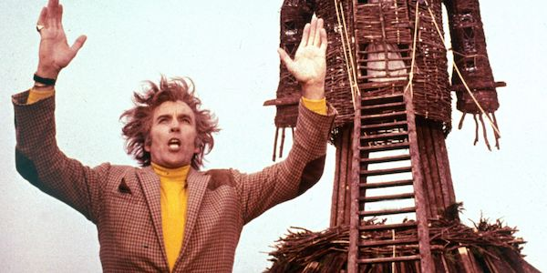 Christopher Lee in Robin Hardy's  The Wicker Man