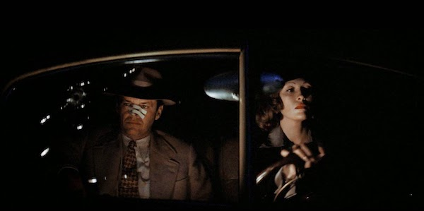 Jack Nicholson and Faye Dunaway in Roman Polanski's  Chinatown