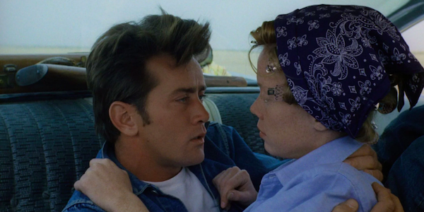 Martin Sheen and Sissy Spacek in Terrence Malick's  Badlands