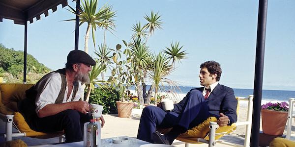 Sterling Hayden and Elliott Gould in Robert Altman's  The Long Goodbye