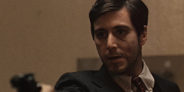 Al Pacino in Francis Ford Coppola's  The Godfather