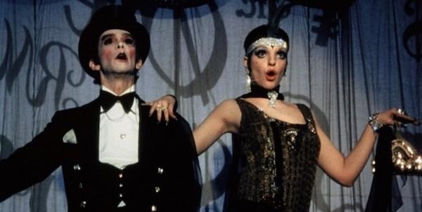Joel Grey and Liza Minelli in Bob Fosse's  Cabaret