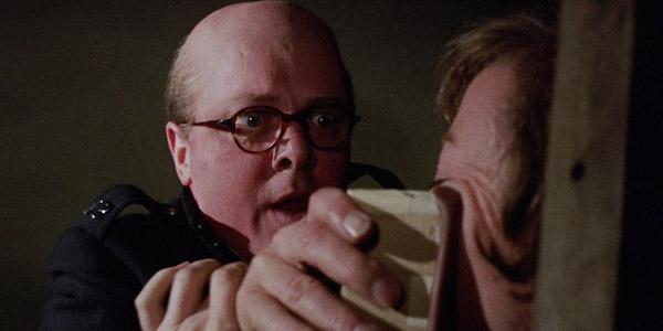 Richard Attenborough attacks John Hurt in Richard Fleisher's  10 Rillington Place