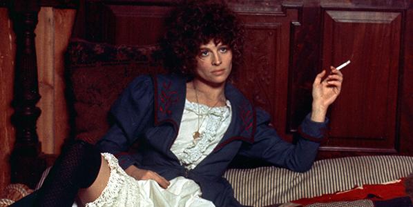 Julie Christie in Robert Altman's  McCabe & Mrs. Miller