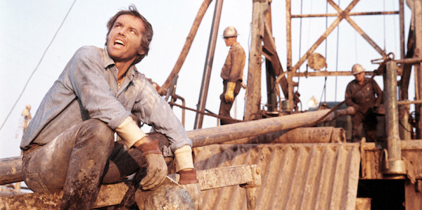 Jack Nicholson in Bob Rafelson's  Five Easy Pieces