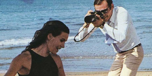 Florinda Bolkan and Gian Maria Volonté in Elio Petri's  Investigation of a Citizen Above Suspicion