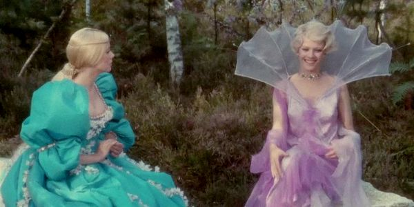 Catherine Deneuve and Delphine Seyrig in Jacques Demy's  Donkey Skin