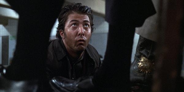Dustin Hoffman in John Schlesinger's  Midnight Cowboy