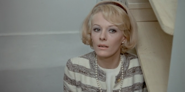 Delphine Seyrig in Francois Truffaut's  Stolen Kisses