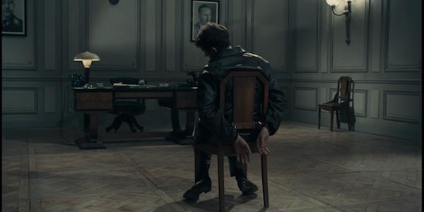 Lino Ventura in Jean-Pierre Melville's  Army of Shadows
