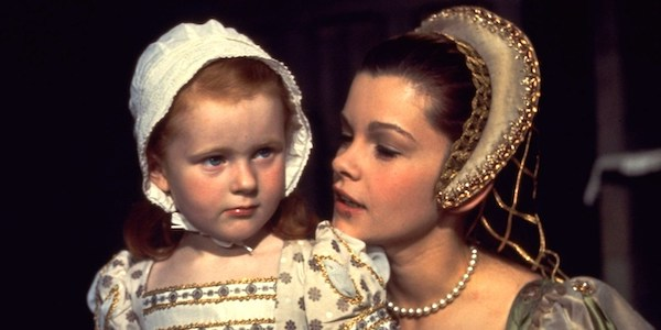 Genevieve Bujold and child in Charles Jarrett's  Anne of a Thousand Days