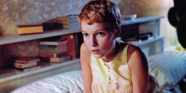 Mia Farrow in Roman Polanski's  Rosemary's Baby
