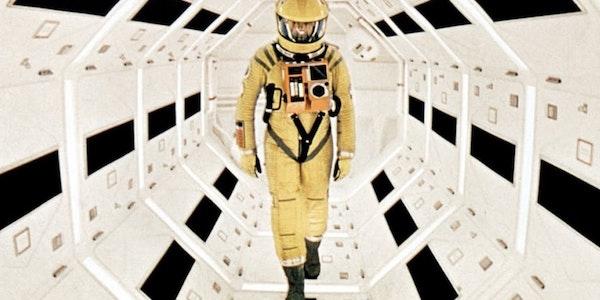 Keir Dullea in Stanley Kubrick's  A Clockwork Orange