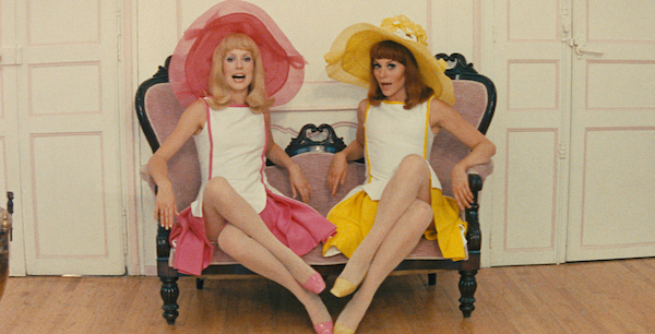 Catherine Deneuve and Françoise Dorléac in Jacques Demy's  Young Girls of Rochefort