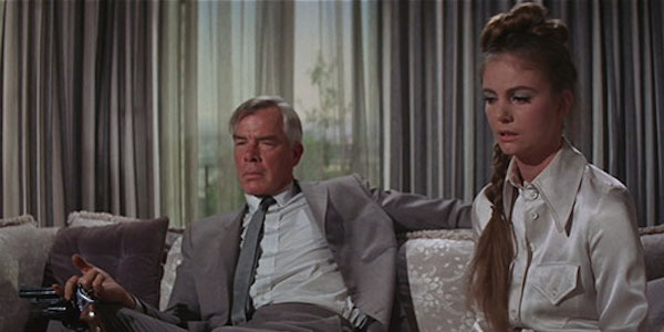 Lee Marvin and Sharon Acker in John Boorman's  Point Blank