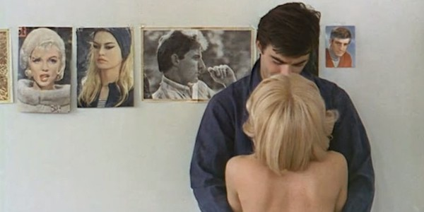 Jean-Claude Drouot and Marie-France Boyer in Agnes Varda's  Le Bonheur