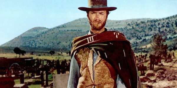 Clint Eastwood in Sergio Leone's  The Good, the Bad, and the Ugly