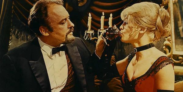 Rod Steiger and Julie Christie in David Lean's  Doctor Zhivago