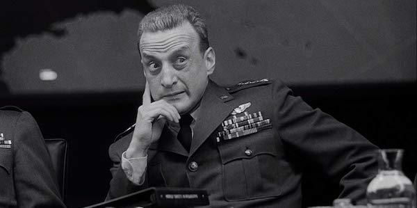 George C. Scott in Stanley Kubrick's  Dr. Strangelove