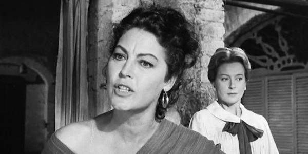 Ava Gardner (left) and Deborah Kerr in John Huston's  Night of the Iguana