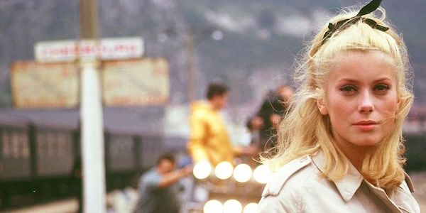 Catherine Deneuve in Jacques Demy's  Umbrellas of Cherbourg