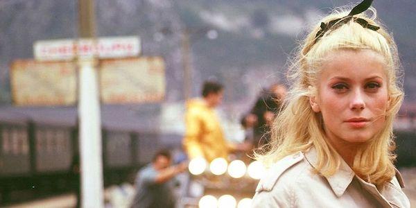 Catherine Deneuve in Jacques Demy's  Umbrellas of Cherbourg
