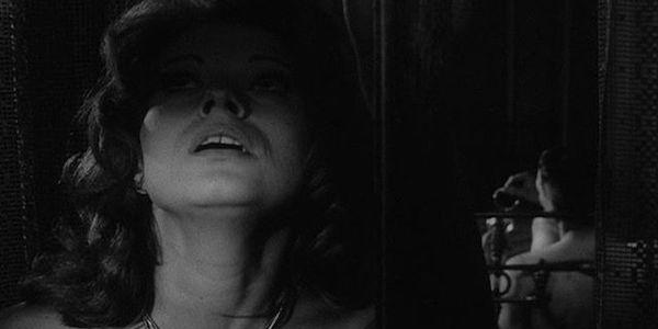 Ingrid Thulin in Ingmar Bergman's  The Silence