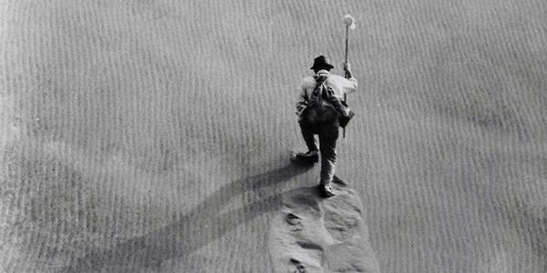 Eiji Okada in Hiroshi Teshigahara's  Woman in the Dunes
