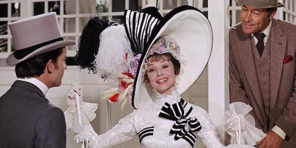 Audrey Hepburn and Rex Harrison in George Cukor's  My Fair Lady