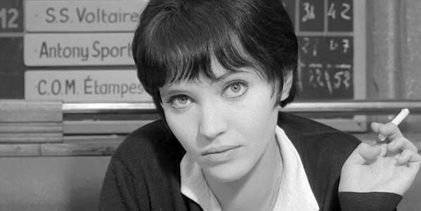 Anna Karina in Jean-Luc Godard's  Vivre sa Vie
