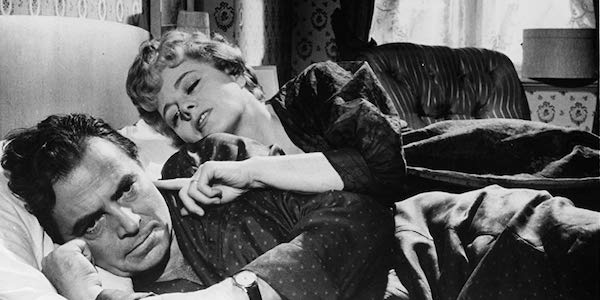 Shelley Winters and James Mason in Stanley Kubrick's  Lolita