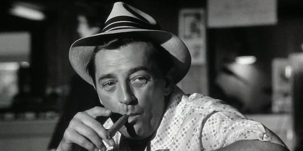 Robert Mitchum in J. Lee Thompson's  Cape Fear