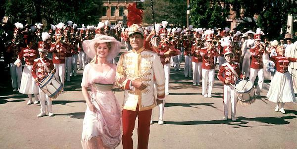 Shirley Jones and Robert Preston in Morton DaCosta's  The Music Man