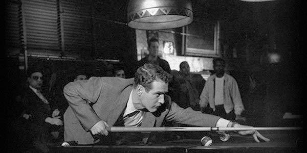 Paul Newman in Robert Rossen's  The Hustler