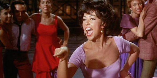 Rita Moreno in Robert Wise and Jerome Robbins'  West Side Story
