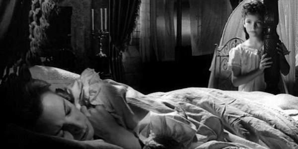 Deborah Kerr and Pamela Franklin in Jack Clayton's  The Innocents