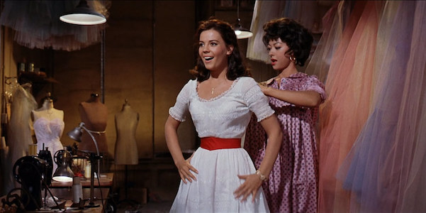 Natalie Wood and Rita Moreno in Robert Wise and Jerome Robbins'  West Side Story