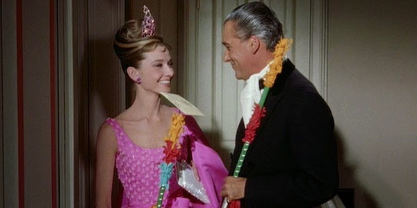 Audrey Hepburn and Jose-Luis de Viallonga in Blake Edwards'  Breakfast at Tiffany's