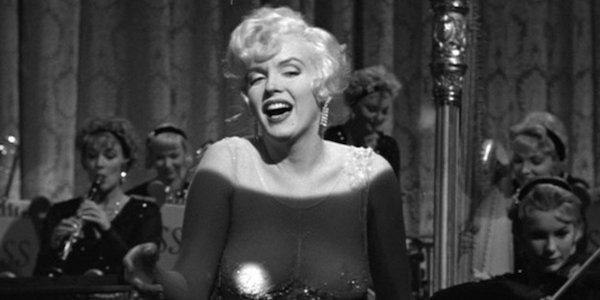 Marilyn Monroe in Billy Wilder's  Some Like it Hot