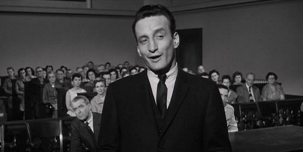 George C. Scott in Otto Preminger's  Anatomy of a Murder