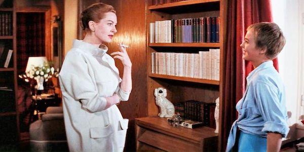 Deborah Kerr and Jean Seberg in Otto Preminger's  Bonjour Tristesse