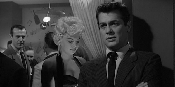 Tony Curtis in Alexander Mackendrick's  Sweet Smell of Success