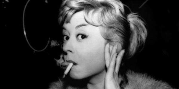 Giulietta Masina in Federico Fellini's  Nights of Cabiria
