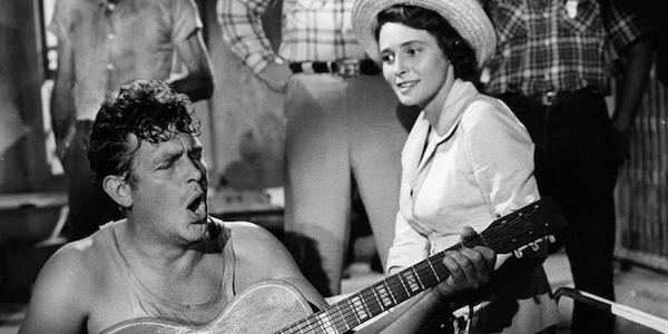 Andy Griffith and Patricia Neal in Elia Kazan's  A Face in the Crowd